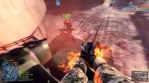Battlefield Funny Moments - Best Glitch Ever, Crazy Grenade Throw, Deagle Sniper! (Dragon's Teeth)