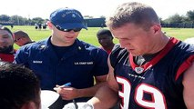 J.J. Watt reportedly undergoes back surgery, could miss Texans' opener