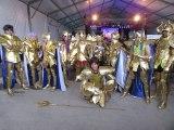 Los 12 Caballeros Dorados reunidos - Evento de Los Caballeros del Zodiaco Cosplayers