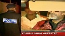 Arrestation de Koffi Olomidé  pour avoir agressé sa danseuse