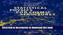 PDF Statistical Physics for Cosmic Structures (Lecture Notes in