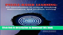 [PDF]  Puzzle-Based Learning: Introduction to Critical Thinking, Mathematics, and Problem Solving