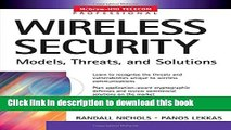 [Read PDF] Wireless Security: Models, Threats, and Solutions Download Free
