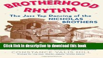 [PDF] Brotherhood In Rhythm: The Jazz Tap Dancing of the Nicholas Brothers Full Online