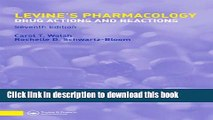 [PDF] Levine s Pharmacology (PHARMACOLOGY- DRUG ACTIONS   REACTIONS (LEVINE)) Popular Online
