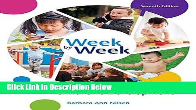 Ebook Week by Week: Plans for Documenting Children s Development Free Online