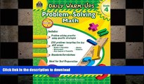 READ ONLINE Daily Warm-Ups: Problem Solving Math Grade 4 (Daily Warm-Ups: Word Problems) READ PDF