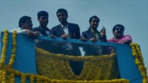 Olympic silver medallist P V Sindhu receives heroic welcome in Hyderabad