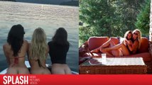 Julianne Hough und Nina Dobrev zeigen ihre nackten Hintern