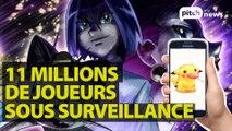 Pokémon Go : inquiétudes sur la collecte des données