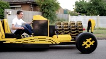 21 Yaşındaki Gençten Muhteşem Bir İcat: Hava ile Çalışan Lego Araba