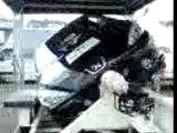 Spa-Francorchamps - Police - Voiture tonneaux 2
