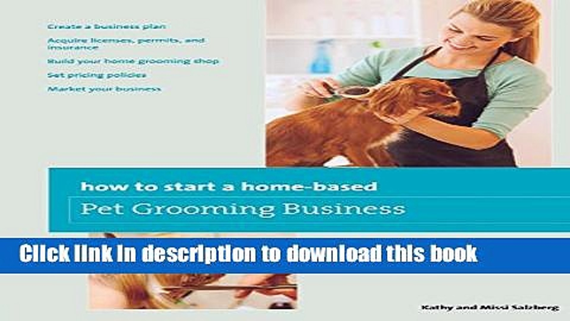 [PDF] How to Start a Home-based Pet Grooming Business Full Online