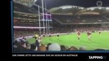 Dérapage raciste en Australie, une femme jette une banane sur un joueur aborigène (Vidéo)