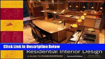 Books Residential Interior Design: A Guide To Planning Spaces Free Online