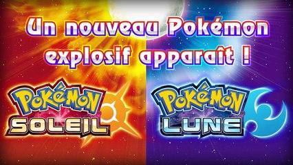 Pokémon Soleil et Lune : Boumata, le nouveau pokémon à été dévoilé