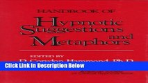 Books Handbook of Hypnotic Suggestions and Metaphors Handbook of Hypnotic Suggestions and