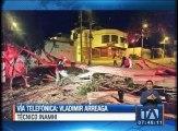 Por qué se produjeron los fuertes vientos en Quito