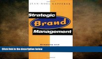Free [PDF] Downlaod  Strategic Brand Management: Creating and Sustaining Brand Equity Long Term