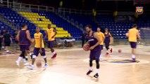 FCB Basket: primer entrenamiento del Barça Lassa  [ESP]