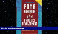 FREE DOWNLOAD  The PDMA Handbook of New Product Development  BOOK ONLINE