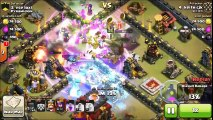 Mass Witch 3 Star Attack On Max TH10 - Best Clan War Attack Ever_ Clash Of Clans Strategy