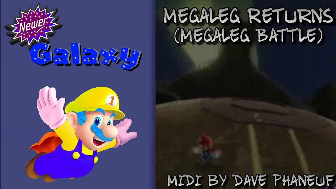[MIDI REMIX] Megaleg/Castle (Super Mario Galaxy & Super Mario 3D World)