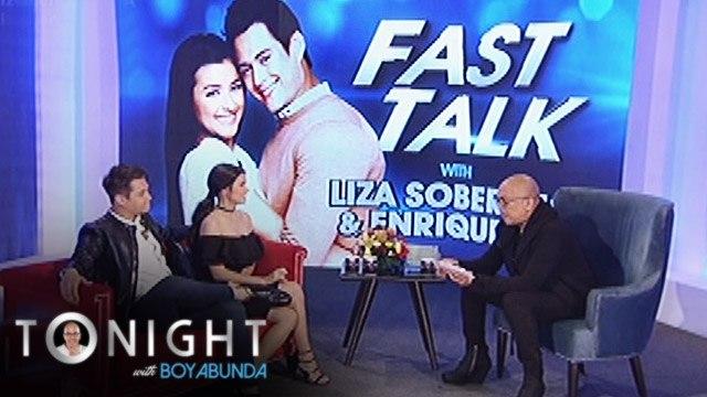 TWBA: Fast Talk with Enrique Gil & Liza Soberano