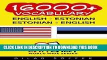 [PDF] 16000+ English - Estonian Estonian - English Vocabulary (ChitChat WorldWide) Popular Online