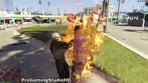 Ghost Rider MOST BRUTAL GTA 5 Mod! (Grand Theft Auto V Mods Gameplay Compilation)
