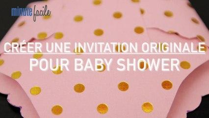 Vie Pratique : Créer une invitation ou un faire-part pour une baby shower