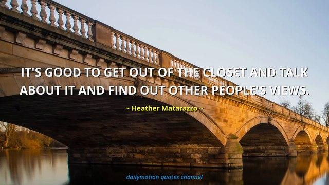 Heather Matarazzo Quotes #2