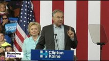Tim Kaine: Clinton Is Direct Opposite of Trump