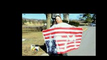 Pennsylvania man arrested for painting 'AIM' on American flag that he flew upside down gets $55,0...