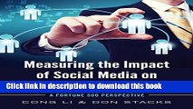 Download Measuring the Impact of Social Media on Business Profit   Success: A Fortune 500