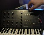 Korg MS-10 + SQ-10 Sequencer Analog synth