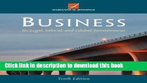 [PDF]  Business: Its Legal, Ethical, and Global Environment  [Download] Full Ebook