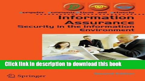 Read Information Assurance: Security in the Information Environment (Computer Communications and