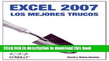 Read Excel 2007/ Excel Hacks: Los mejores trucos/ Tips   Tools for Streamlining Your Spreadsheets