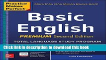 Download Book Practice Makes Perfect Basic English, Second Edition: (Beginner) 250 Exercises + 40
