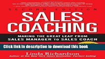 Read Books Sales Coaching: Making the Great Leap from Sales Manager to Sales Coach ebook textbooks
