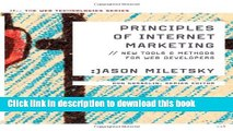 Read Principles of Internet Marketing: New Tools and Methods for Web Developers (Web