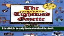Read Books The Complete Tightwad  Gazette ebook textbooks