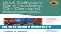 Read IBM Software for e-business on demand: Business Transformation and the on demand Software