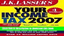Download Books J.K. Lasser s Your Income Tax 2007: For Preparing Your 2006 Tax Return E-Book Free
