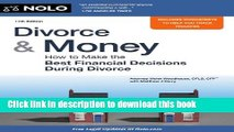 Read Books Divorce   Money: How to Make the Best Financial Decisions During Divorce (Divorce and