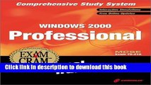 Read Windows 2000 Professional Exam Cram Personal Trainer MCSE Exam 70-210 (CD-ROM Boxed-Set) with