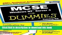 Read McSe Windows Nt Server 4 for Dummies: Training Kit Ebook Free