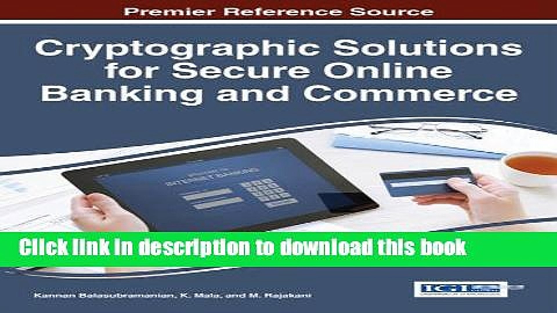 Read Cryptographic Solutions for Secure Online Banking and Commerce PDF Free