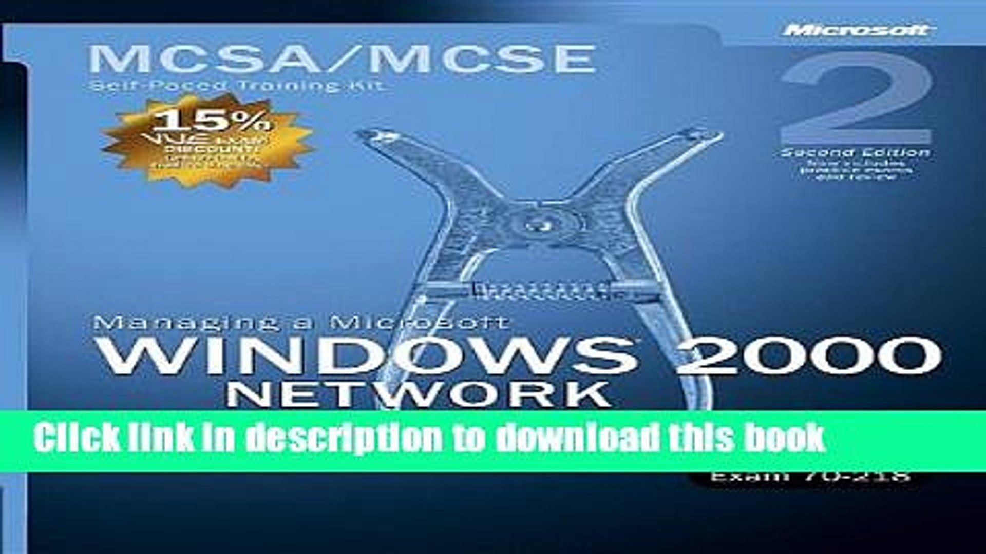 Read MCSA/MCSE Self-Paced Training Kit (Exam 70-218): Managing a Microsoft Windows 2000 Network